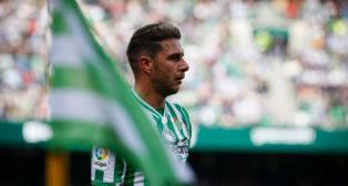 Joaquín durante un partido de esta temporada en el Benito Villamarín. Foto: LaLiga