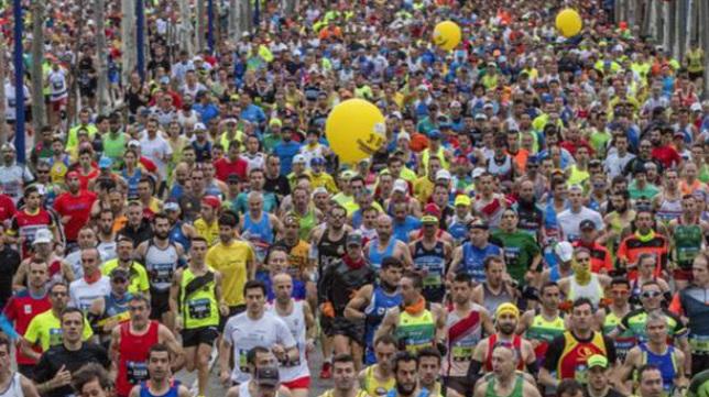 Imagen de la anterior edición del Zurich Maratón Sevilla