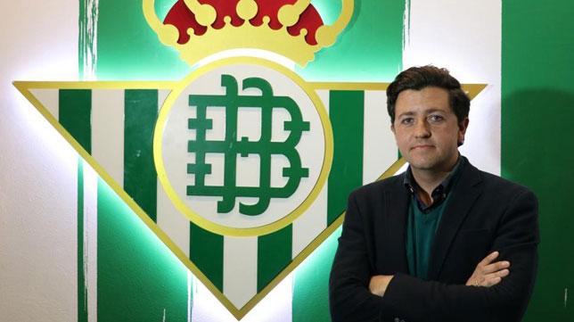Miguel Calzado, nuevo director de la cantera del Betis (Foto: Real Betis).