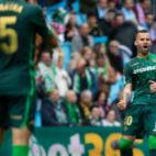 Jesé celebra su gol en el Celta-Betis (LaLiga)