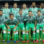 El once del Betis en Valencia (Foto: EP).