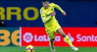 Gerard Moreno, en un partido con el Villarreal (Foto: Villareal CF)