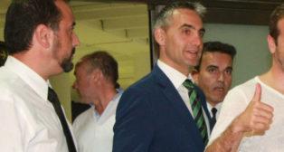 Víctor Antequera, delegado del Betis