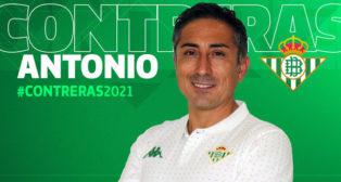 Antonio Contreras, nuevo entrenador del Betis Féminas (Foto: Real Betis)