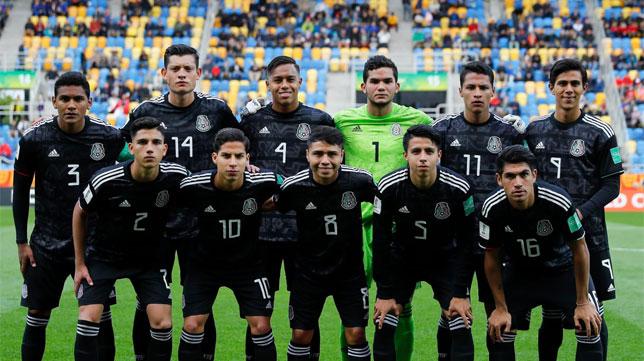 Diego Lainez, en la formación de México frente a Italia (Foto: FIFA.com)