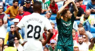 Loren celebra el gol marcado en el Real Madrid-Betis (Foto: Reuters)