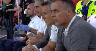 Alexis y Marcos Álvarez, durante el DC United-Betis