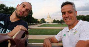 Pau López y Marcos Álvarez en Washington DC