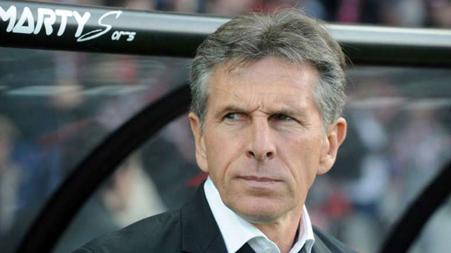 El técnico francés Claude Puel (AFP)