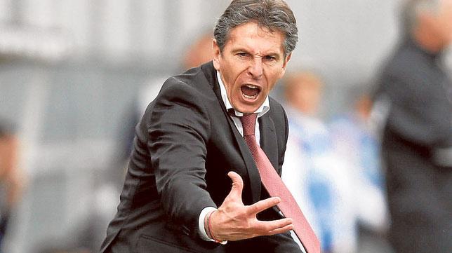 El técnico francés Claude Puel, durante un partido con el Niza en 2013 (Foto: AFP)