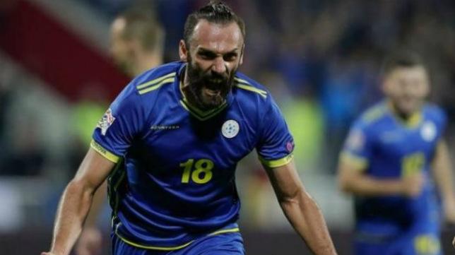 Vedat Muriqi celebra un gol
