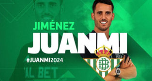 Anuncio por parte del Betis del fichaje de Juanmi (Imagen: Real Betis)