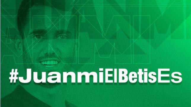 Hashtag para participar en el sorteo para conocer a Juanmi (Imagen: Real Betis)
