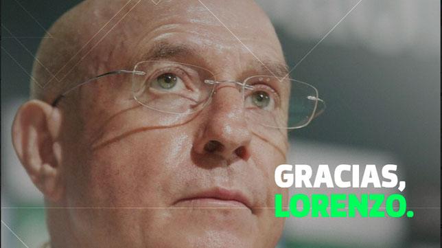 El adiós del Betis a Lorenzo Serra Ferrer (RBB)