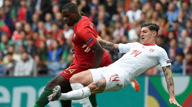 William Carvalho, en el Portugal-Suiza de la Liga de Naciones (Foto: UEFA)