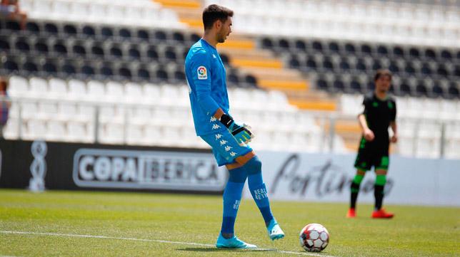 Dani Martín será titular en el Barcelona - Betis (Foto: RBB)