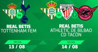 El Betis Féminas participará en el Trofeo Carranza de este verano