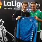 Casillas y Joaquín, antes del Oporto-Betis (Foto: Real Betis).