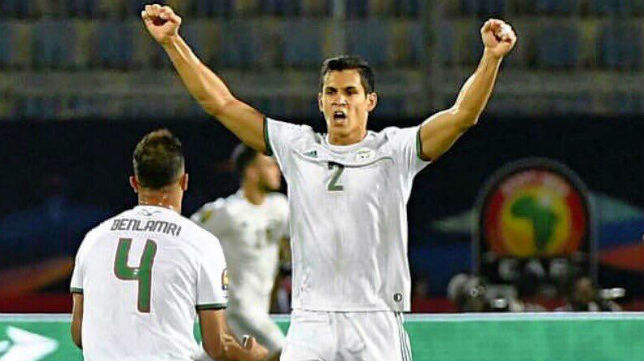 Mandi, tras clasificarse a los cuartos de final de la Copa África con Argelia