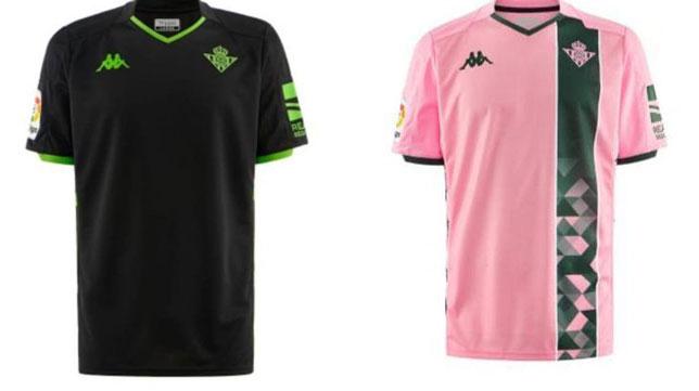 calidad confiable entrega gratis comprar online Real Betis Negro y rosa en las equipaciones del Betis para ...