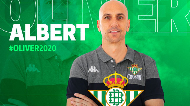 Albert Oliver, segundo fichaje del Coosur Real Betis (Foto: RBB)