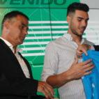 Alexis, junto a Dani Martín en su presentación
