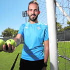 Giuseppe Ricciardi, nutricionista del Betis, posa para ABC de Sevilla (Foto: Juan Flores)