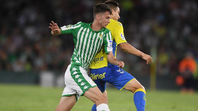 Raúl fue titular con el Betis en el partido ante Las Palmas (Foto: Juan José Úbeda)