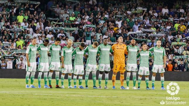 Once del real Betis ante el Leganés: Foto: LaLiga