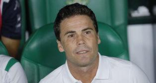 Rubi, antes del Betis-Getafe (Raúl Doblado)