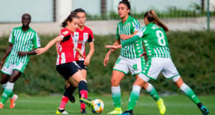 Piemonte e Irene encaran a dos jugadoras del Athletic (Foto: Athletic Club)