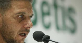Joaquín, en rueda de prensa (Manu Gómez)