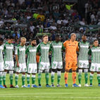 Once del Betis ante el Leganés (Foto: JUAN JOSÉ ÚBEDA)