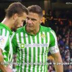 La conversación entre Joaquín y Canales antes del 2-1 en el Betis-Valencia.