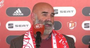 Juan Antonio Romero, presidente del Atlético Antoniano (Foto: ABC)
