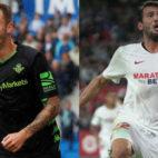 Loren Morón y Franco 'Mudo' Vázquez, máximos goleadores del Betis y el Sevilla