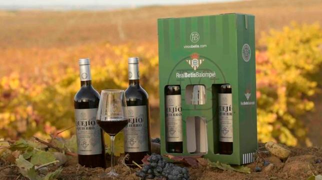 El Betis presenta su nueva marca de vinos - Al final de la Palmera