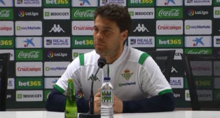 Rubi, entrenador del Real Betis.