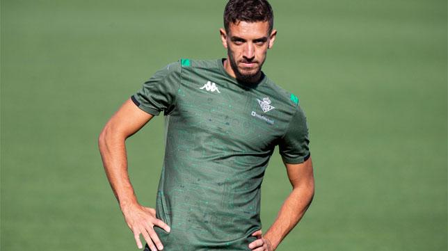 Feddal, durante el entrenamiento del Real Betis (Foto: LaLiga).