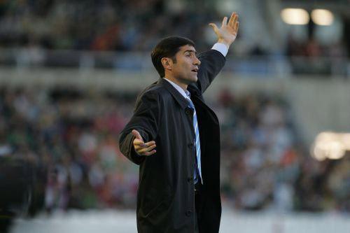Betis: Marcelino dando instrucciones