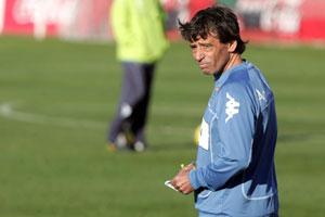 Real Betis: Chaparro se ve dentro