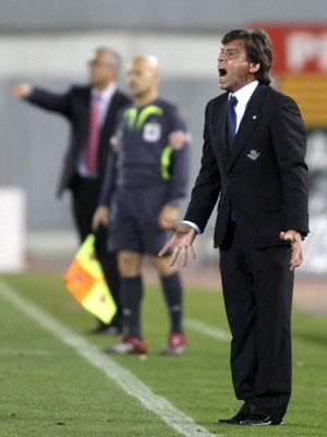 Real Betis: Chaparro, satisfecho con el resultado
