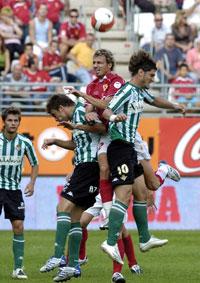 Real Betis: En la ida quedó el partido empate a cero