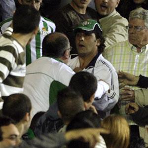 Real Betis: el autor del botellazo