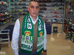 Real Betis: Antolín Ortega, entrevistado por Betisweb