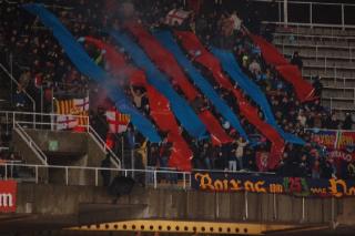 Real Betis: Hubo altercados de los hichas del Barcelona