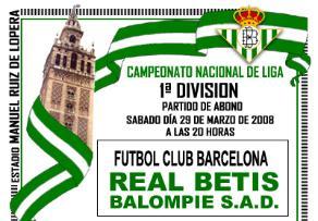 Real Betis: Se anuncia el próximo partido en casa