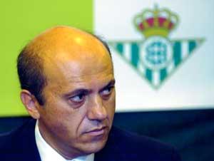 Real Betis: Del Nido, en una ocasión en el club heliopolitano
