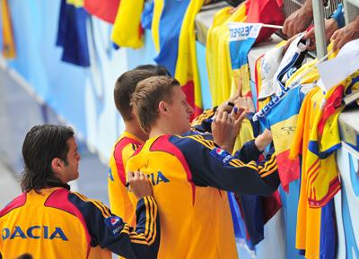 Real Betis: goian firma autógrafos en la Eurocopa