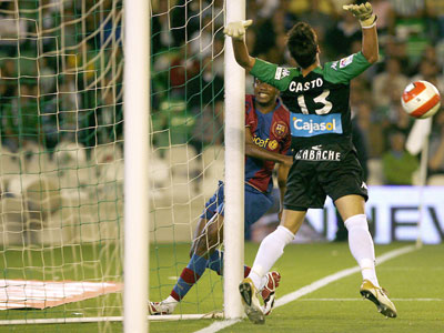 Real Betis: A Casto le gustaría continuar en el Betis